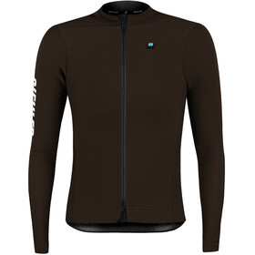 Biehler Thermal Rain Maglietta a Maniche Lunghe Donna, dark brown